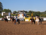 Highlight for Album: Clatsop County Rodeo